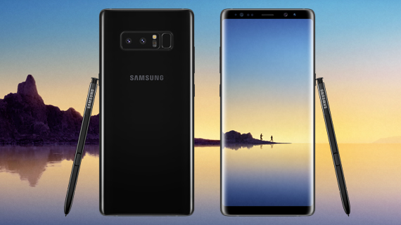 Samsung Galaxy Note8 lifestyle