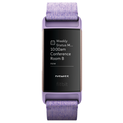 FitBit Charge 3 Lavender Woven | Lavender