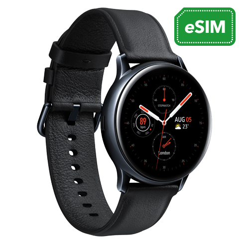 Samsung Galaxy Watch Active 2 40mm LTE Stainless Steel