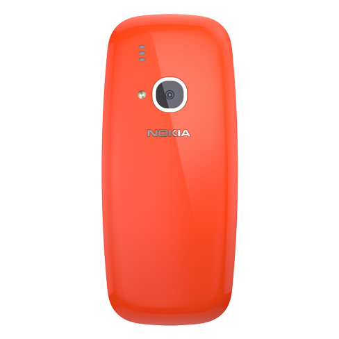 Nokia 3310 red