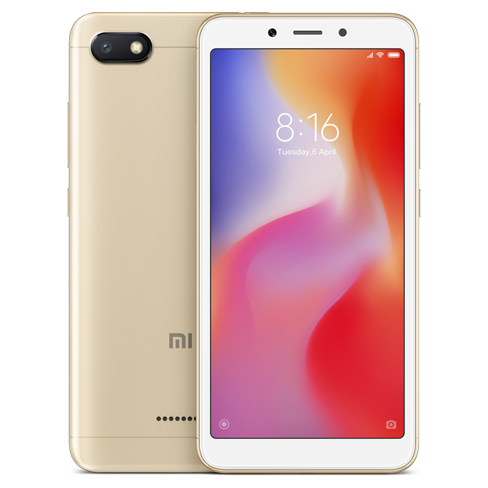 Xiaomi Redmi 6A Gold | Bite