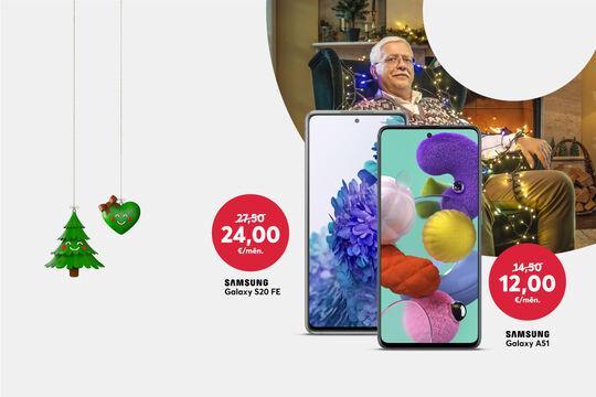 Svētku atlaides spožajiem Samsung