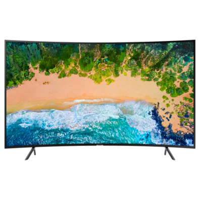 "Samsung 49"" UHD 4K Curved Smart TV NU7372 (UE49NU7372UXXH) 