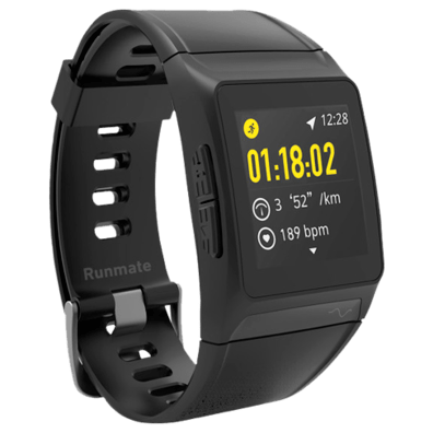 SBS Runmate GPS Watch Black | Bite