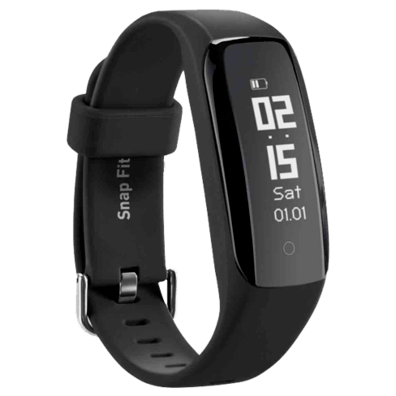 SBS Snap Fitness Watch Black | Bite
