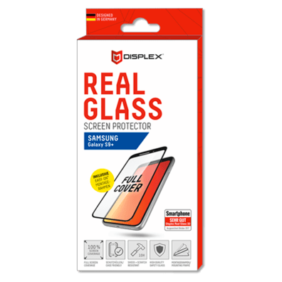 Samsung Galaxy S9+ aizsargstikliņš (Displex Real Glass 3D Black) | Bite