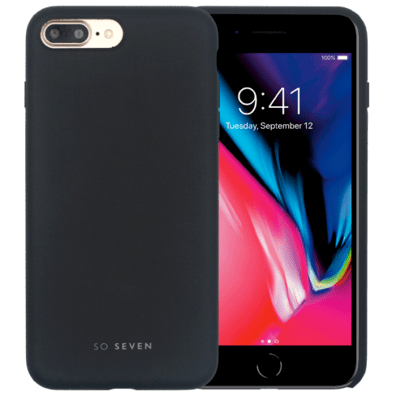 Apple iPhone 7 Plus/8 Plus aizsargvāciņš (Smoothie Cover) | Black | Bite