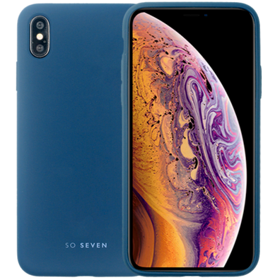 Apple iPhone XS Max aizsargvāciņš (Smoothie Cover) | Navy Blue | Bite