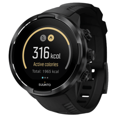 Suunto 9 Baro + HR Belt | Black | Bite