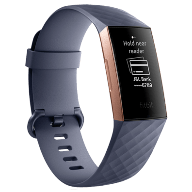 FitBit Charge 3 | Blue/Gray | Bite