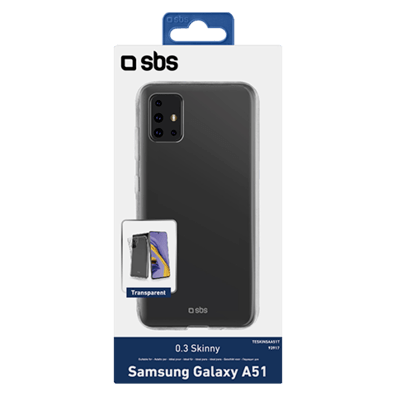 Samsung Galaxy A51 Skinny Cover By SBS Transparent | Bite