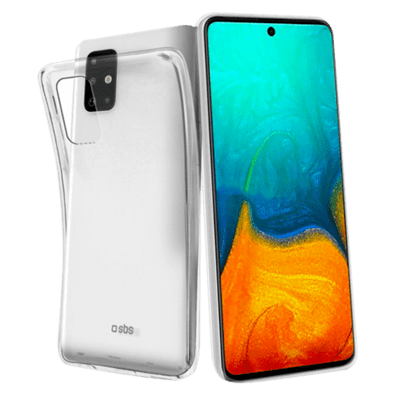 Samsung Galaxy A71 Skinny Cover By SBS Transparent | Bite