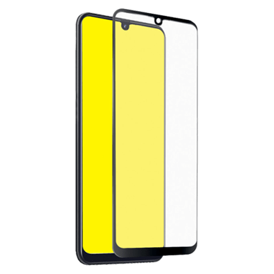 Samsung Galaxy A40 Full Cover Screen Glass By SBS Black | Bite