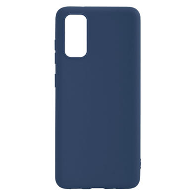 Samsung Galaxy A41 Soft Touch Cover By Senso Blue | Bite
