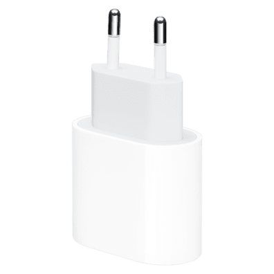 Apple 20W USB-C Power Adapter | White | Bite