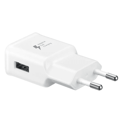 Samsung Travel Adapter 15W USB (without cable) | White | Bite
