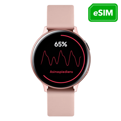 Samsung Galaxy Watch Active 2 LTE Aluminum 40mm | Pink Gold | Bite