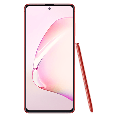Samsung Galaxy Note10 Lite | Aura Red | Bite