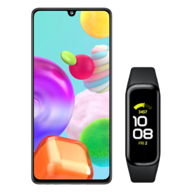 Samsung Galaxy A41 (SM-A415F) | Prism Crush Black | Bite